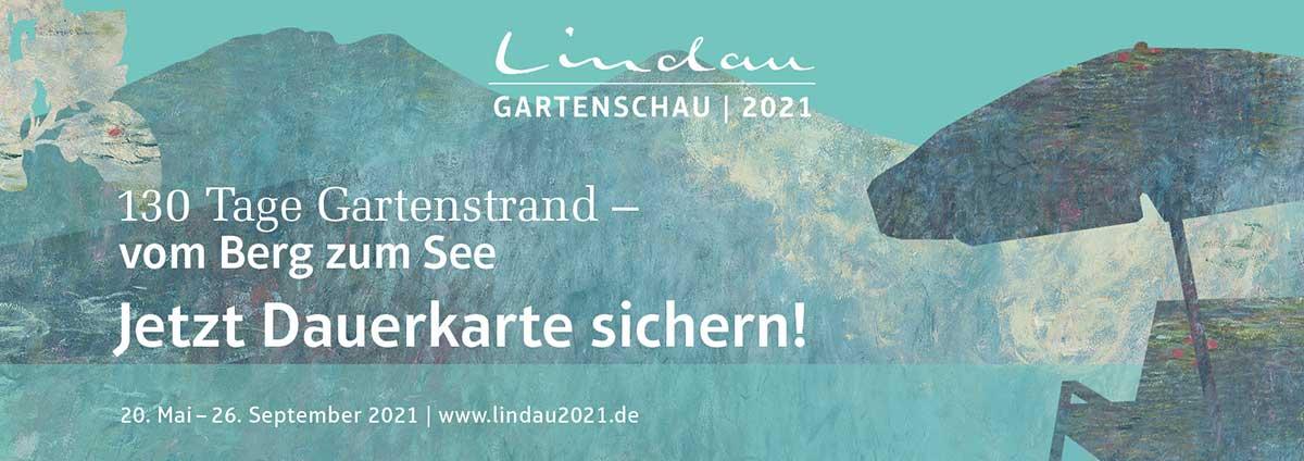 Infos über die Gartenschau Lindau 2021 Dauerkarte