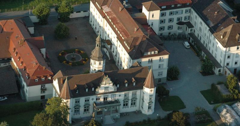 Kloster Hegne und Hotel bei Allensbach