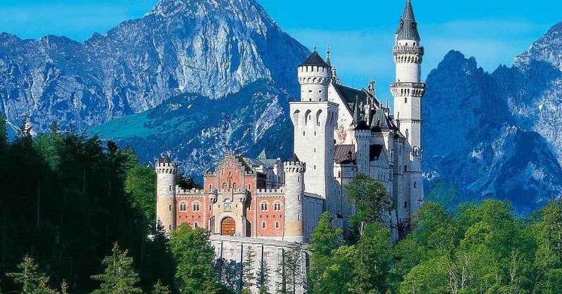 Schloss Neuschwanstein bei Schwangau