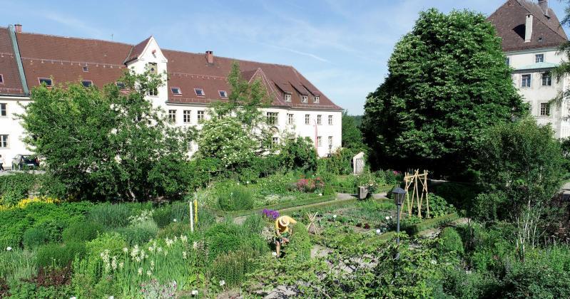 Unterallgäuer Kreislehrgarten in Bad Grönenbach