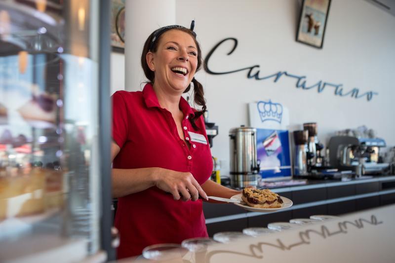 Erwin Hymer Museum Restaurant Caravano - Kaffee und Kuchen