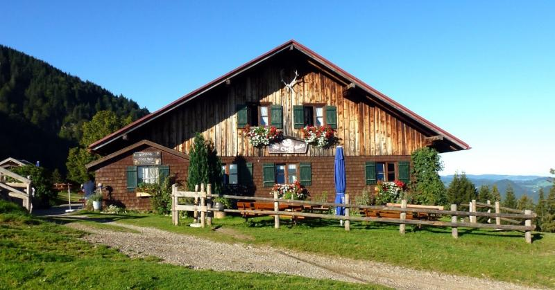 Alpe Obere Kalle im Wandergebiet der Alpsee Bergwelt bei Immenstadt