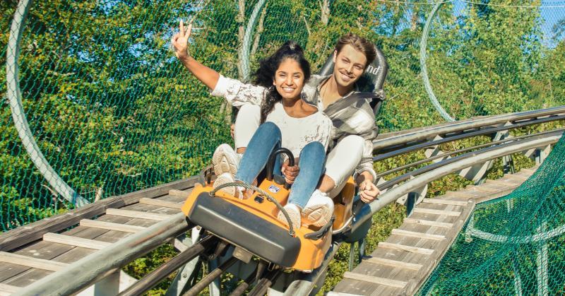 Alpsee Coaster zwischen Immenstadt und Oberstaufen