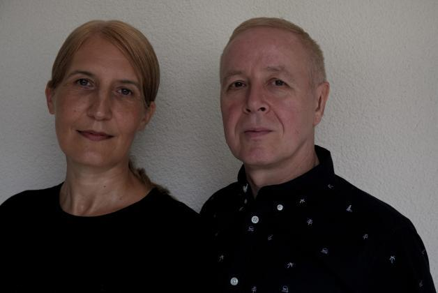Das Künstlerduo Monica Germann & Daniel Lorenzi; ©germann&lorenzi