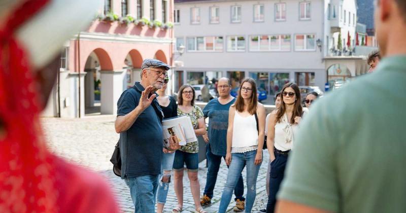 Öffentliche Stadtführung durch die historische Altstadt Leutkirch